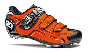 Sidi Buvel Neon Orange Mountain Bike Shoes