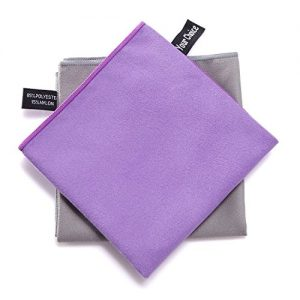 Your-Choice-Microfibre-Travel-TowelLightweigtSuper-AbsorbentQuick-DryingCompactUltro-Soft5-Sizes-in-6-Trendy-Colors-Towels-Best-for-TravelSportsYogaPilatesBikramCampingSwimRunningBeachBath-or-at-Home-0