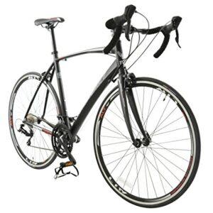 700c-Cobra-Carbon-Fibre-Road-BIKE-Premium-Bicycle-BRITISH-EAGLE-Mens-BLACK-0