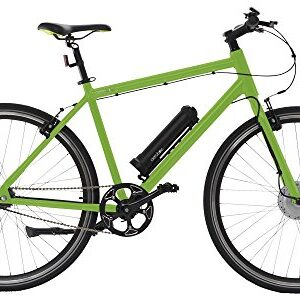 AEROBIKE-X-Ride-Electric-Bike-Pedal-Assisted-Hybrid-e-Bike-Mountain-Bike-with-Lithium-Battery-and-SRAM-Automatix-Gear-System-0