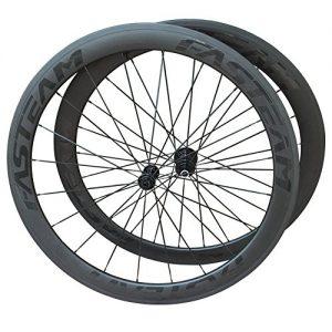 Fasteam-3K-Matt-700c-Superlight-Cycling-Clincher-Carbon-Wheelset-Racing-Wheels-for-Road-Bikes-0