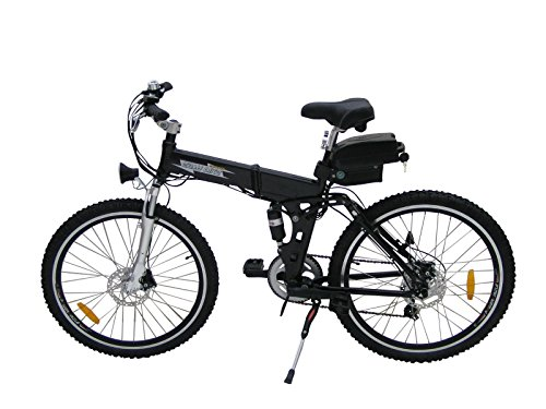 folding electric bike 250w with a 36v10ah lithium battery