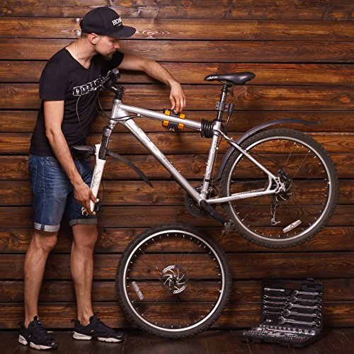 Powerfly Wall Mount Bike Repair Stand Bicycle Mechanic