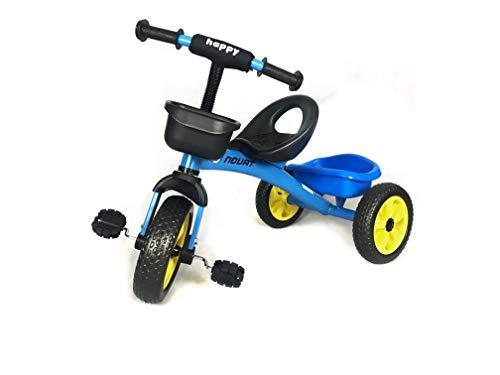Childs Pedal Trike Blue Adjustable Seat Front Amp Rear